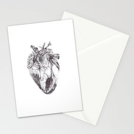 Stippling Heart Stationery Cards