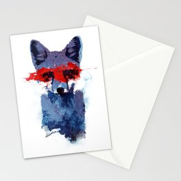 The last superhero Stationery Cards