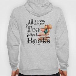 Tea & Books Hoody