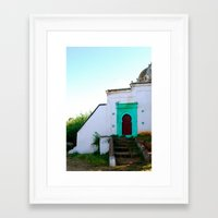 morocco Framed Art Prints featuring Morocco by Jennifer McMartin