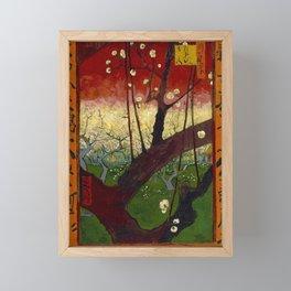 "Vincent van Gogh ""Flowering plum orchard - near Hiroshige"" Framed Mini Art Print"
