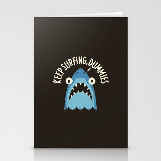 Great White Snark Stationery Cards