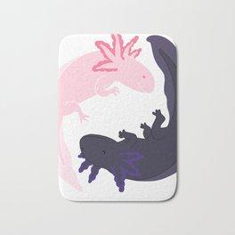 Yin&Yang Axolotls Bath Mat