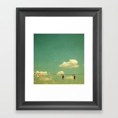 GO Framed Art Print