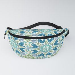 Blue Roosters Fanny Pack