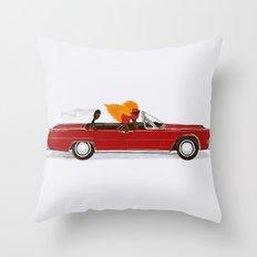 Match Cruise Throw Pillow