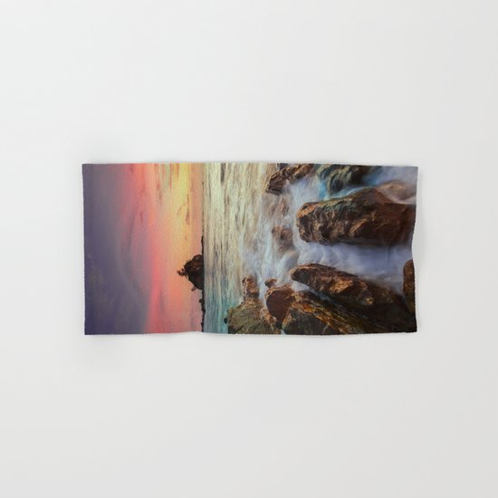 Sea Rock Hand & Bath Towel