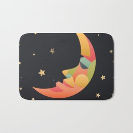Imaginative Moon Bath Mat