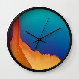 Summer Slasher Wall Clock