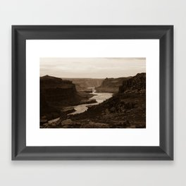 Limits Framed Art Print