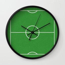 Football Pitch Wall Clock