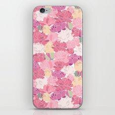 Rose Peony Flowers iPhone Skin