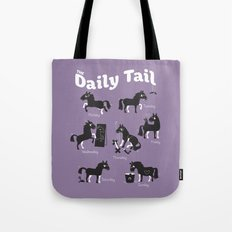 The Daily Tail Horse Tote Bag
