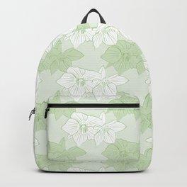 Green Hellebores Backpack