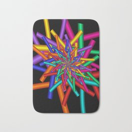 turn around with colors -44- Bath Mat