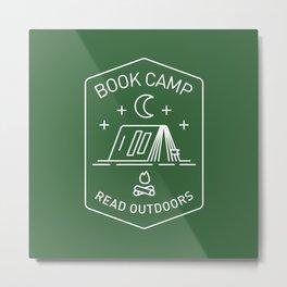 Book Camp Metal Print