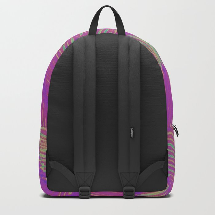 Neon Summer Palms Backpack