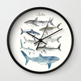 Sharks Wall Clock