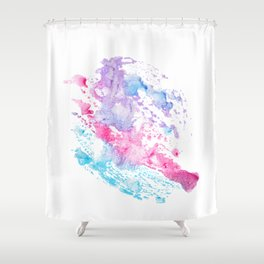 abstract watercolor 4 Shower Curtain