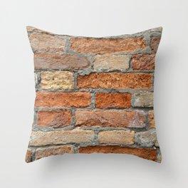 Venetian Bricks No 1 Throw Pillow