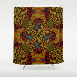 Eliope Maze Shower Curtain