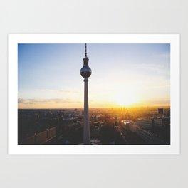 Berlin, my love Art Print