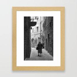 Volterra  Framed Art Print