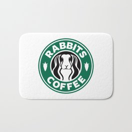 RABBITS COFFEE Bath Mat