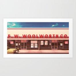 F.W. Woolworth Art Print