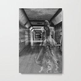 The White Lady Metal Print