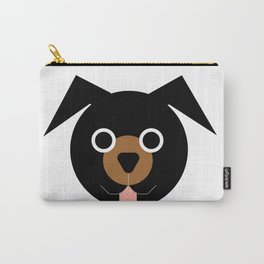 Black & Brown Dog Carry-All Pouch