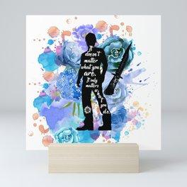 Sam Winchester Quote Mini Art Print