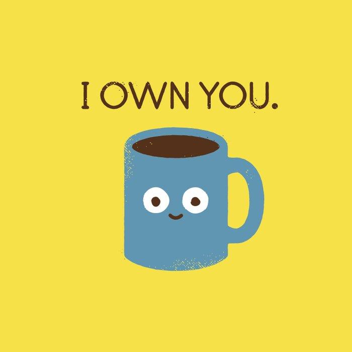 Coffee Talk Duvet Cover