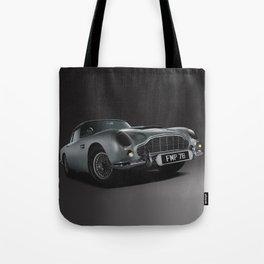 Aston Martin DB5 Digital Painting   Automotive   Cars Tote Bag