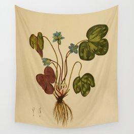 Anemone hepatica Wall Tapestry