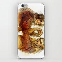 fili iPhone & iPod Skins featuring Fili and Kili by Boisson