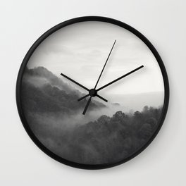 hill forest Wall Clock
