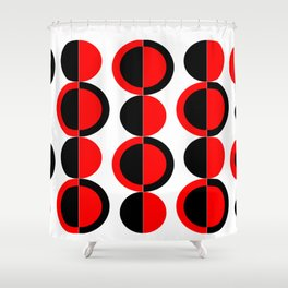 Mod Circles Shower Curtain