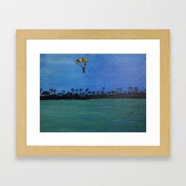 The Paraglider Framed Art Print