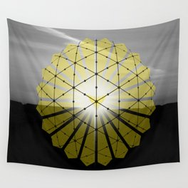 Nothing can stay Gold Wall Tapestry