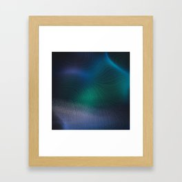 Beauty of the Northern Lights Framed Art Print
