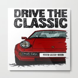 drive the classic Metal Print