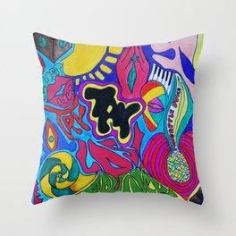 Zeigiest by Temi Daibo  Throw Pillow