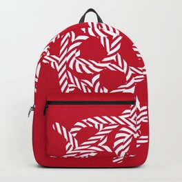 Candy cane flower 3 Backpack