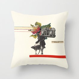The Automatically Screwed Machine Throw Pillow