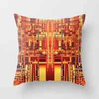 persona 4 Throw Pillows featuring PERSONA by Helyx Helyx