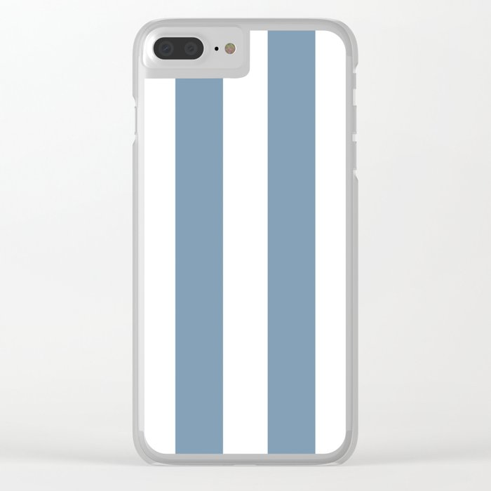 Navy Clear iPhone Case