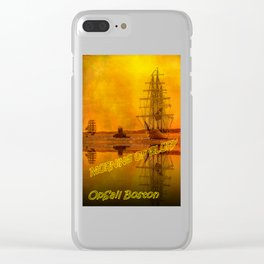 Tall Ships - Morning of Glory Clear iPhone Case