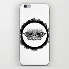 Half Creature iPhone & iPod Skin