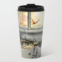 Humanist Metal Travel Mug